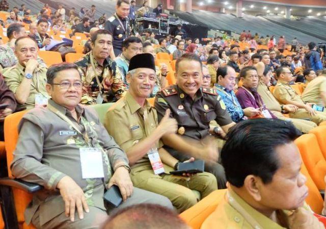 Bupati Pringsewu Hadiri Rakornas Kepala Daerah dan Fokorpimda Se Indonesia 2019